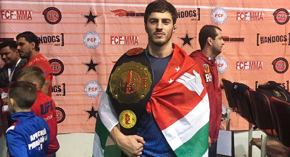 The Abkhaz athlete Enri Agrba took the first place in the World Cup of Mixed Fights
