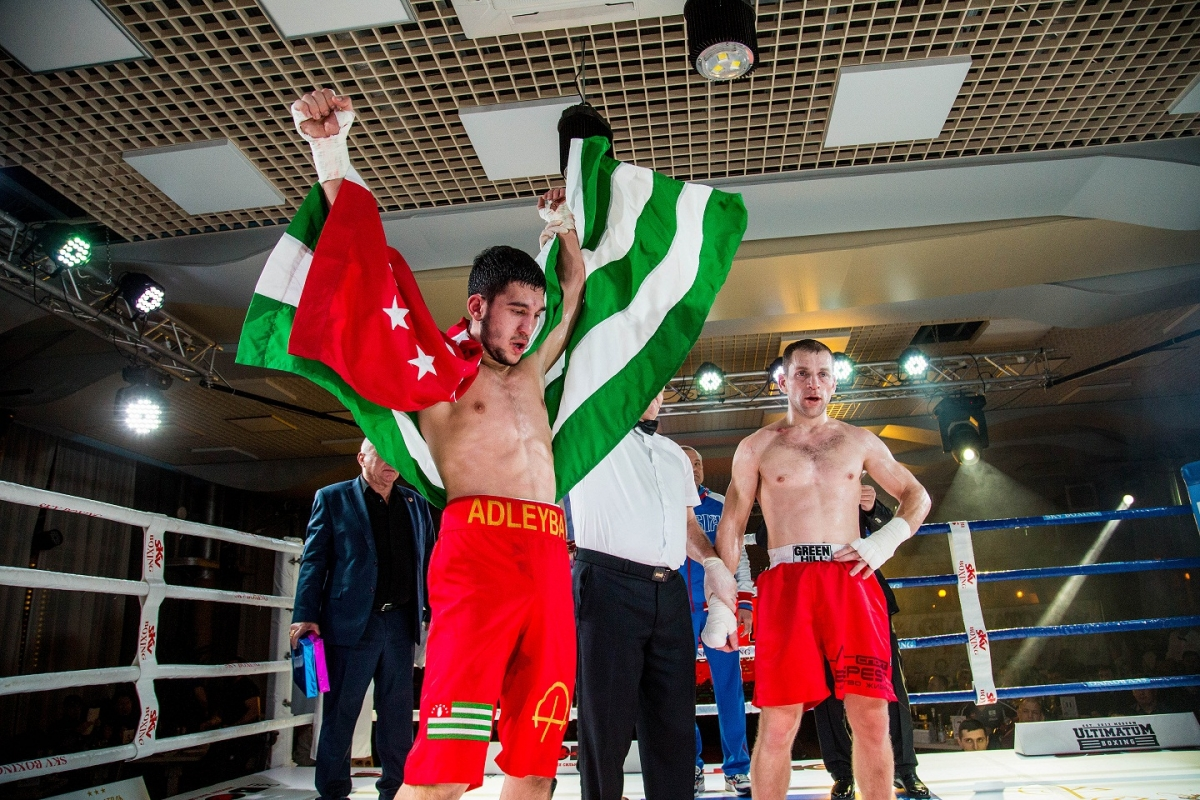 The Abkhaz boxer Igor Adleyba won a landslide victory at the «Galactic Fight-3» professional Boxing battle in Sochi